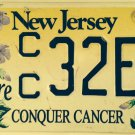 Conquer Cancer Survivor license plate breast oncology Race For Cure Komen pink
