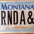Vanity BRENDA & I license plate Bren Brendah Brendie Brendalynn Brendell Branda