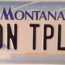 Vanity GONE TOPLESS CAR license plate Muscle Ford Chevy Buick Cadillac Pontiac