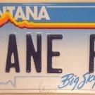 Vanity ZANE ZANY CRAZY P license plate Patrick Paul Peter Philip Piet Patty Pat