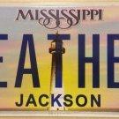 Vanity HEATHER license plate Heath Hether Actress Locklear