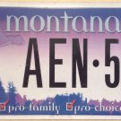 PRO CHOICE license plate Abortion rights Fetus Choose Life Family Pill Kid Abort