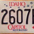 BOISE STATE CAPITOL PRESERVATION license plate Restoration Historic Places