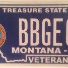 ARMY VETERAN vanity BABY GEO license plate George Geoffrey Geovany Georgia Geoff