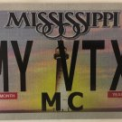 MOTORCYCLE vanity MY HONDA VTX license plate 1800 1300 Biking Biker Cruiser F3