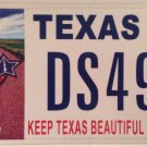 Don't Mess with TX RECYCLING license plate environment waste reduction cleanup