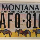 WILDERNESS AREA license plate Horseback riding Fish National Park Trail Hiking