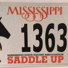 EQUINE Association license plate Pet Animal Horse Equestrian Thoroughbred Pony