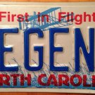 Vanity LEGEND license plate Famous Hero Fairy Tale story Past Map Celebrity Star