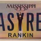 Vanity SASSY RED license plate Ferrari color car Ford Chevy Buick Dodge BMW Audi