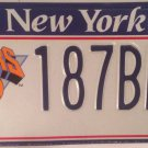 New York KNICKS license plate National Basketball Madison Square Garden NBA BEM