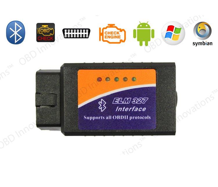 ELM327 Bluetooth OBD2 Car Diagnostics Scanner for Android