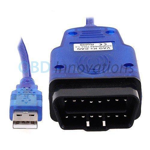 VAG 409.1 KKL OBD2 USB Diagnostic Cable