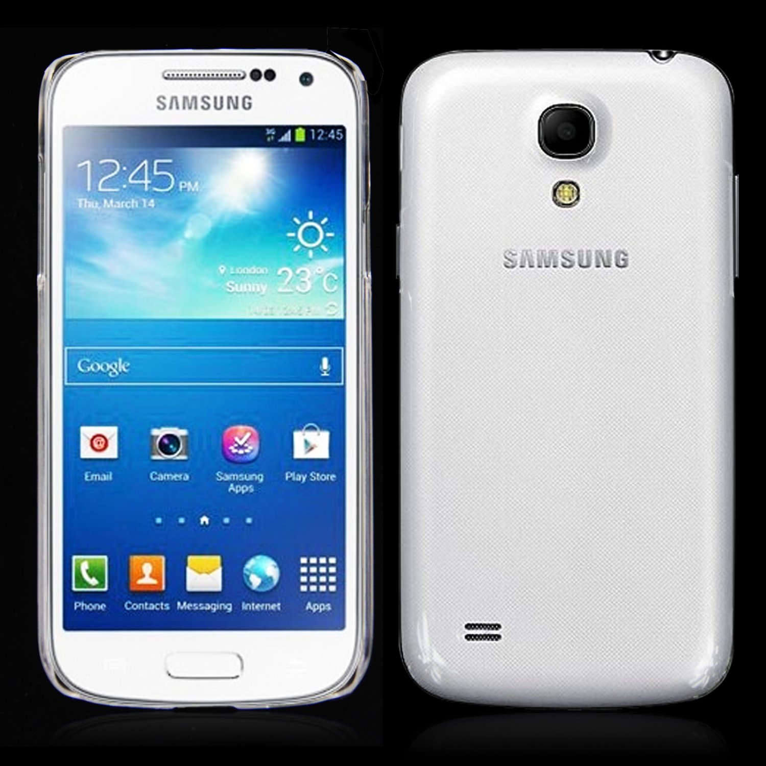 Thin Crystal Clear Hard Snap On Case for Galaxy S4 i9500