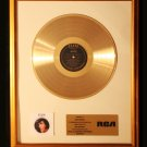 Elvis Presley A Legendary Performer Volume 2 Gold Non RIAA Record Award RCA