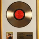 Elvis Country (I'm 10,000 Years Old) Gold Non RIAA Record Award To RCA Records
