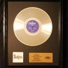 The Beatles 20 Greatest Hits Platinum Non RIAA Record Award Black Frame