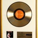 Elvis Presley Raised On Rock For Ole Times Sake Gold Non RIAA Record Award RCA