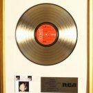 Elvis Presley Love Letters From Elvis Gold Non RIAA Record Award RCA Records