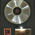 Elvis Presley Burning Love And Hits Volume 2 Platinum Non RIAA Record Award