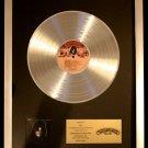 KISS Solo Peter Criss Platinum Non RIAA Record Award Casablanca Records