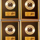 Michael Jackson Lot Of 4 45 Platinum Non RIAA Record Awards Epic Records