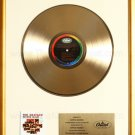 The Beatles 2nd Second Album Gold Non RIAA Record Award Capitol Records