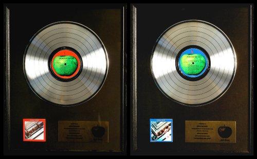The Beatles 1962-1966 & 1967-1970 Platinum Non RIAA Record Award Apple Records