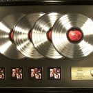 The Beatles Let It Be X4 Platinum Non RIAA Record Awards Apple Records