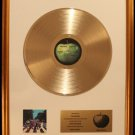 The Beatles Abbey Road Gold Non RIAA Record Award Apple Records