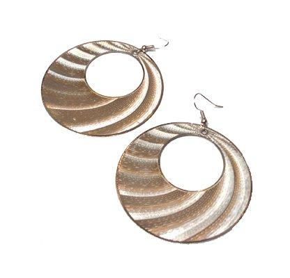 Round Fan Earrings