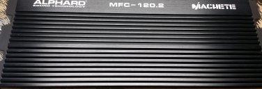 Alphard Sound Machete MFC-120.2 450w Audio Amplifier NEW!