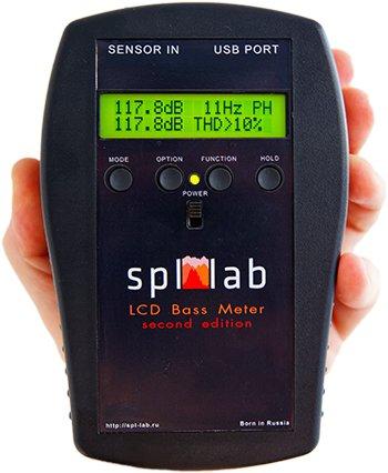 SPL-Lab LCD Meter SE