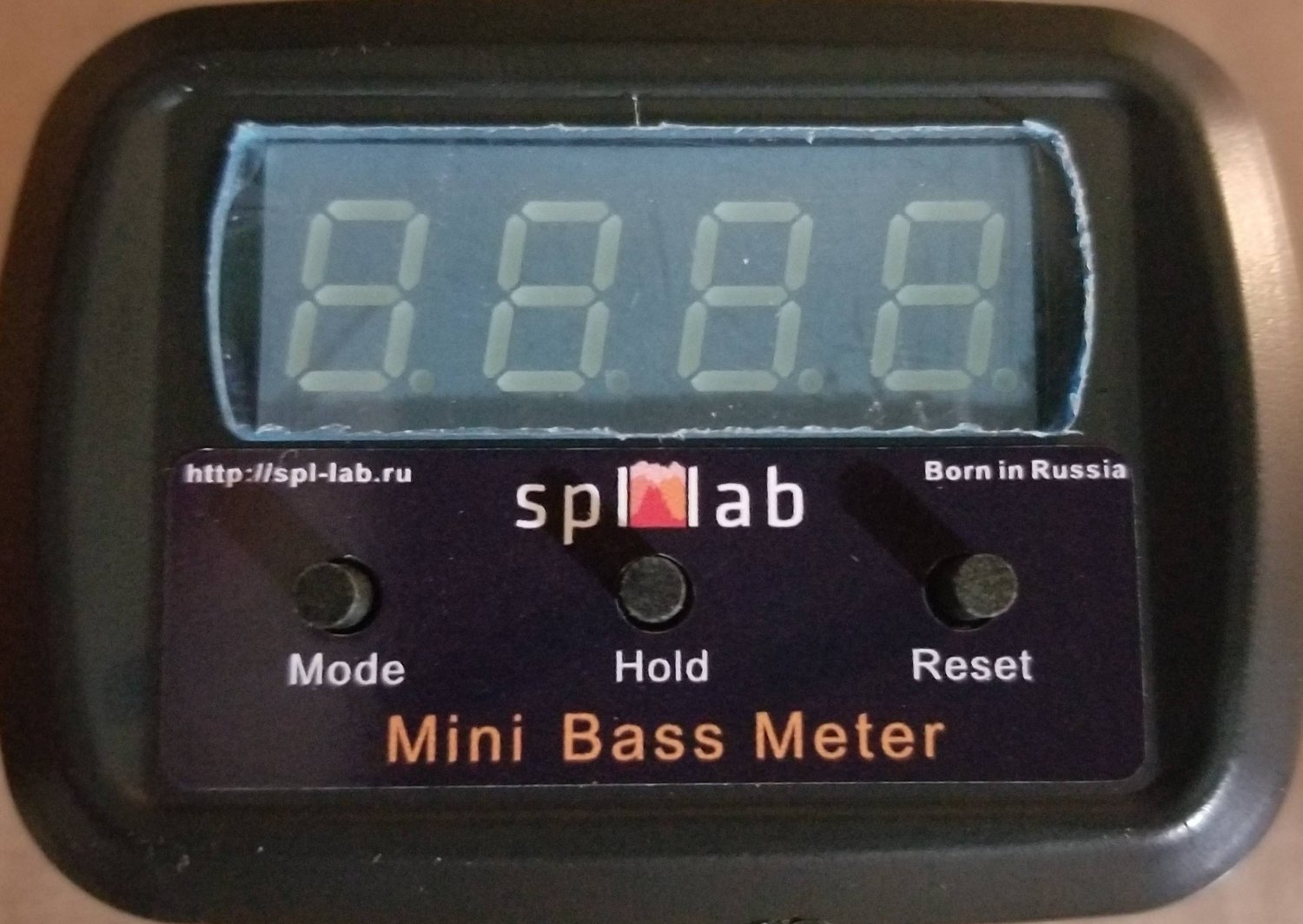 SPL-Lab Mini Bass Meter v2 SE-G