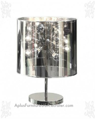 NEW Large Supernova Modern Showy Table Lamp 21.7""
