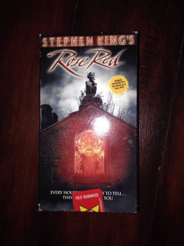 """��COLLECTABLE BOX SET�� THRILLER STEPHEN KING'S """"Rose Red"""" On VHS"""