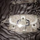 "⭐️Gorgeous⭐️ Gold G ""Bling"" Guess Satchel/bag/purse~Retails For $149"
