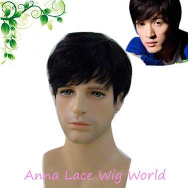 free shipping 100% human hair FINE MONO TOUPEE for men
