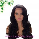 synthetic lace front  22inch wig