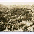 Silent City Bryce Canyon Utah RPPC postcard