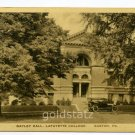Gayley Hall Lafayette College Easton Pennsylvania postcard