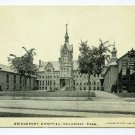 Bridgeport Hospital Bridgeport Connecticut postcard