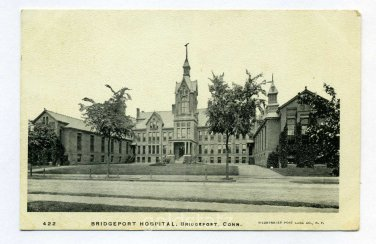 Bridgeport Hospital Bridgeport Connecticut postcard