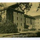 Abigail Adams Hall Massachusetts State College Amherst Massachusetts postcard