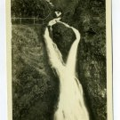 Wahkeena Falls Columbia River Highway Oregon RPPC CX198 postcard