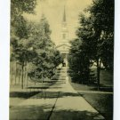 Chapel Middlebury College Middlebury Vermont 1941 postcard