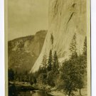 El Capitan Yosemite National Park California RPPC postcard
