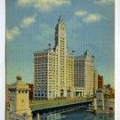 Wrigley Building Chicago Illinois 1948 postcard