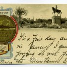 Washington Monument City Seal Boston Massachusetts Tuck 1903 postcard
