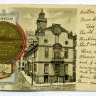 Old State House City Seal Boston Massachusetts Tuck 1902 postcard